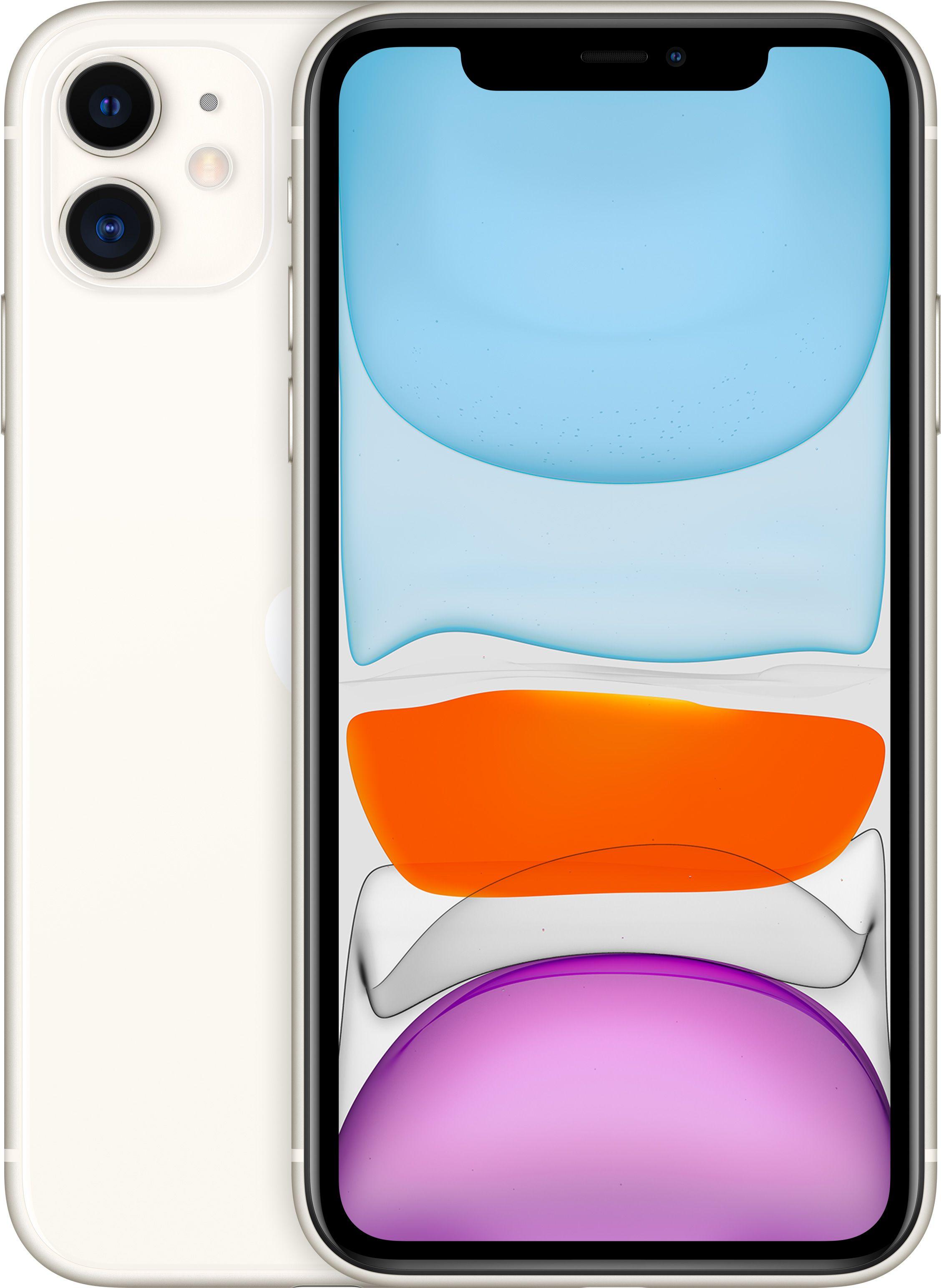 Мобильный телефон, Apple iPhone 11 64GB (белый)  - купить со скидкой