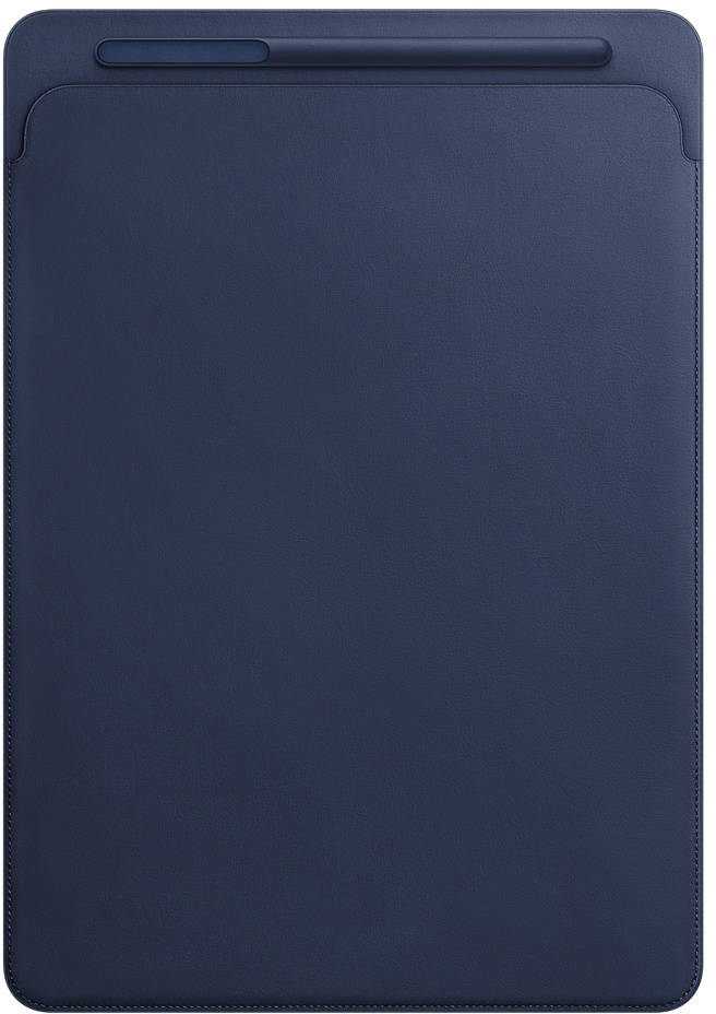 Чехол Apple для iPad Pro 12.9 (2017) (темно-синий)
