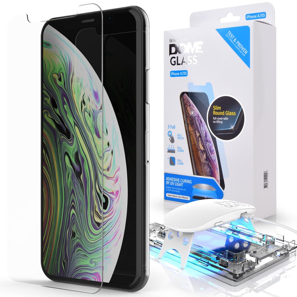Защитное стекло Whitestone DOME для Apple iPhone XS/X
