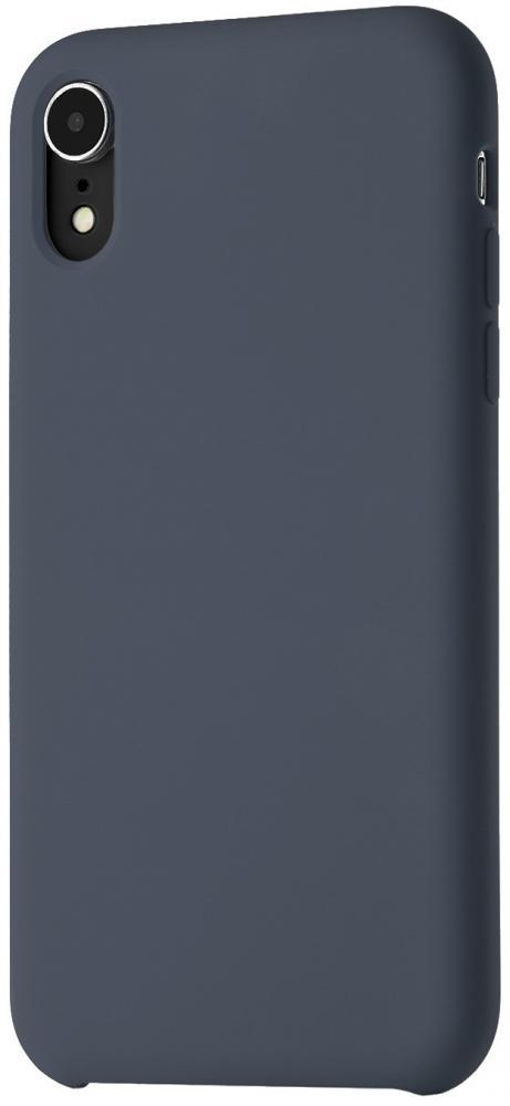Клип-кейс uBear Soft Touch для Apple iPhone XR (синий)