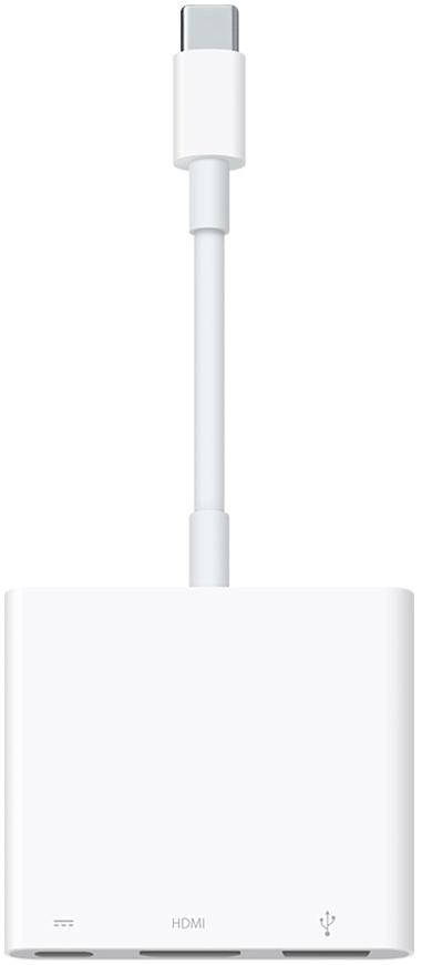 Цифровой AV-адаптер Apple USB-C (белый)