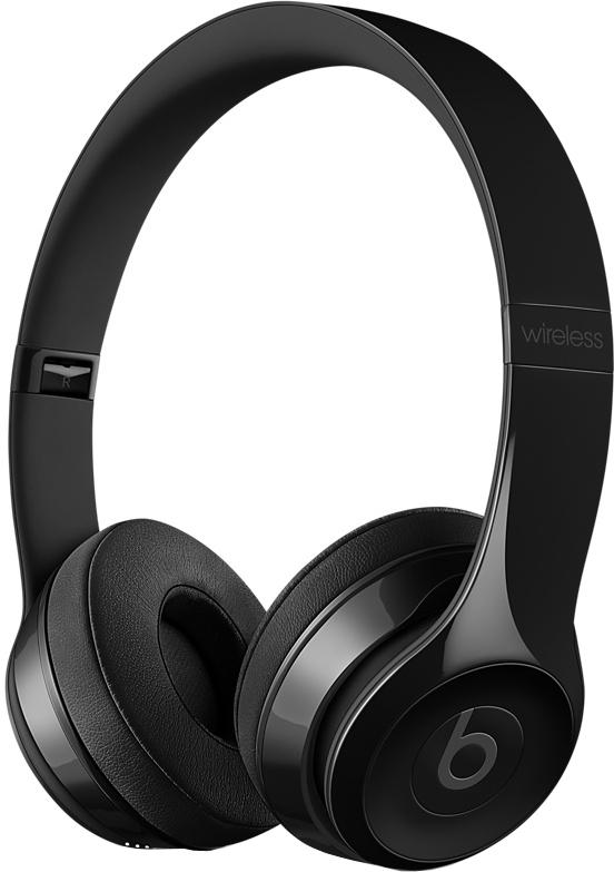 Наушники Beats Solo3 Wireless (глянцевый черный)
