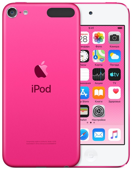 Фото - Плеер Apple iPod touch 32Gb (2019) (розовый) сорокин р прекращение государственно служебных отношений вследствие несоблюдения законодательства о противодействии коррупции моногра