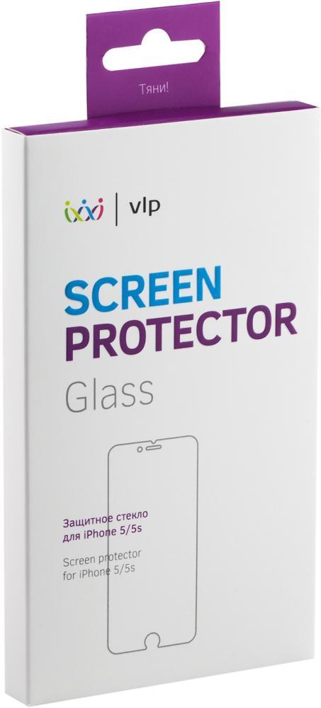 Защитное стекло VLP для iPhone SE/5/5C/5S (глянцевое)
