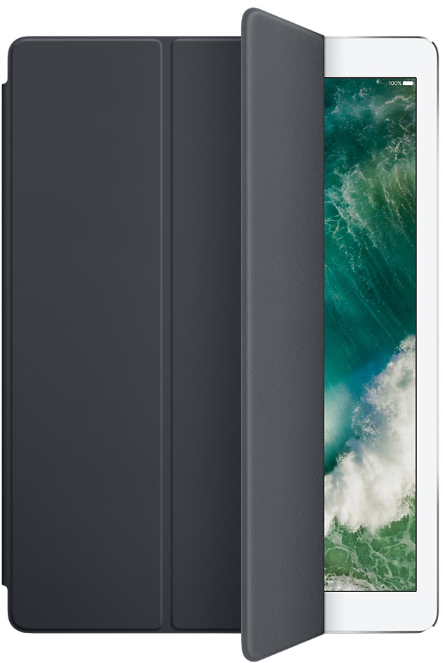Обложка Apple Smart Cover для iPad Pro 12.9 (2017) (угольно-серый)