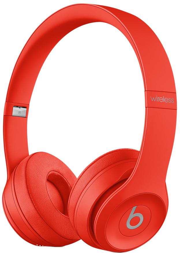 Наушники Beats Solo3 Wireless (красный)