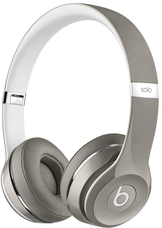 Наушники Beats Solo2 Luxe Edition (серебристый)