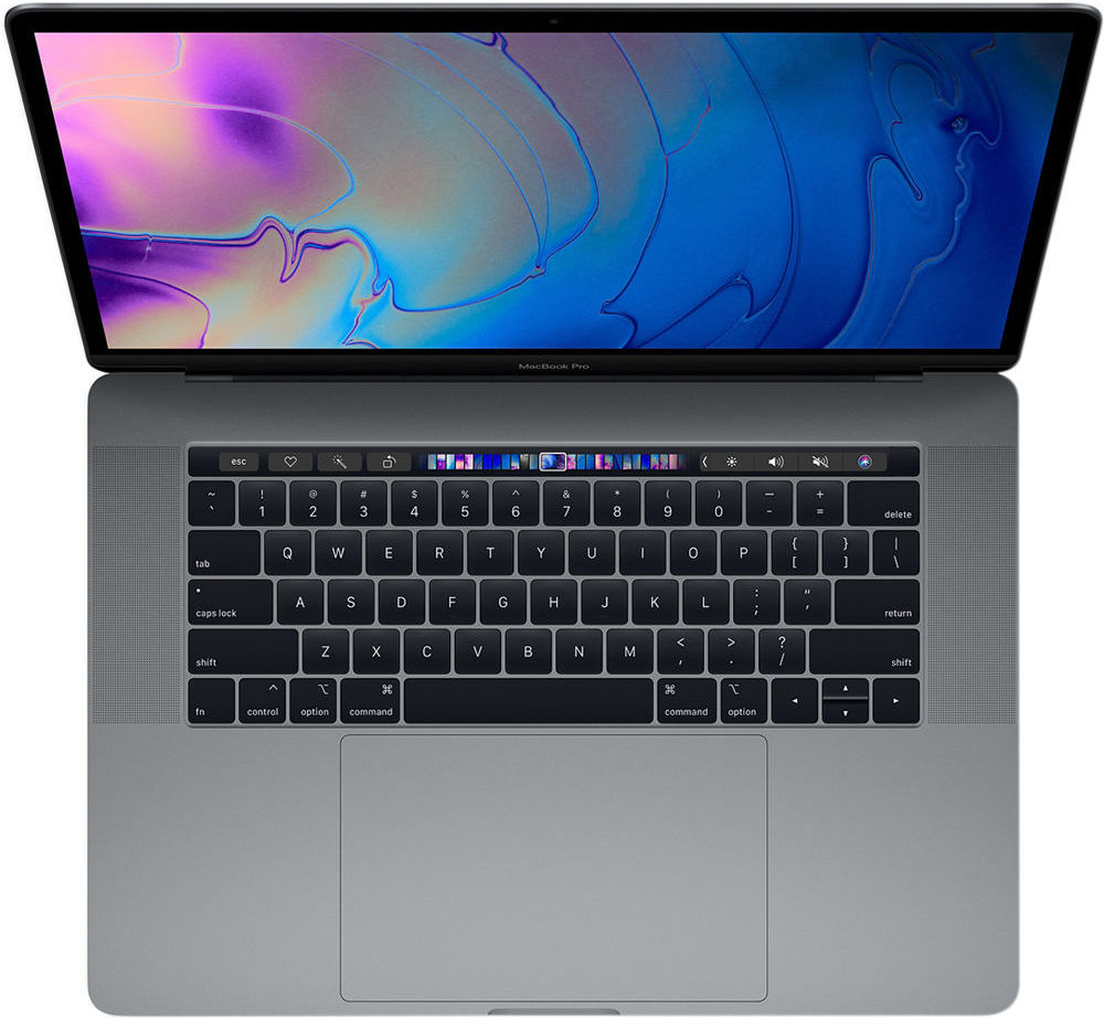 "Ноутбук Apple MacBook Pro 15"" Core i9 2,3 ГГц, 16 ГБ, 512 ГB SSD, Radeon 560X, Touch Bar (Intel 2300 Mhz/15.4""/2880х1800/16384Mb/512Gb HDD/AMD 560X/WIFI)"
