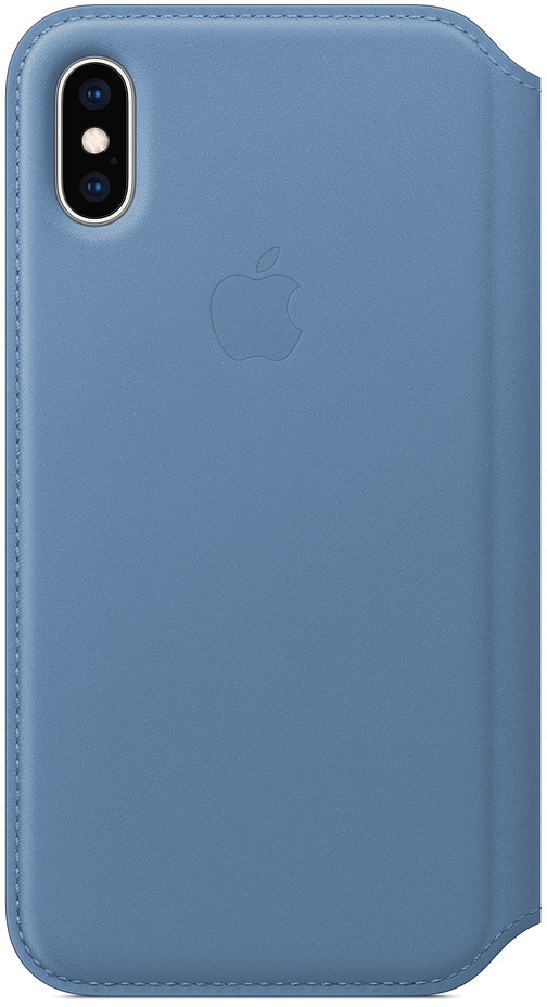 Чехол-книжка Apple Folio для iPhone XS (синие сумерки)