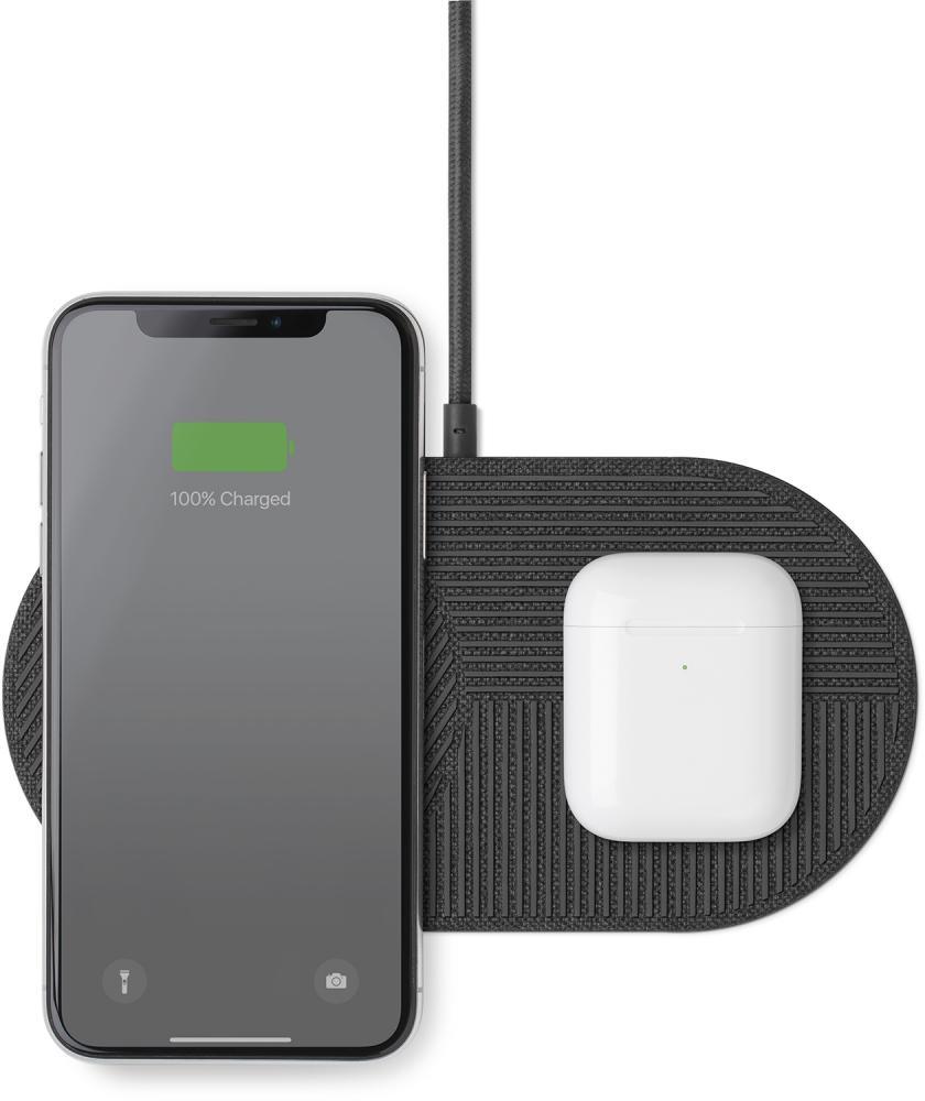 Фото - Беспроводное зарядное устройство Native Union DROP XL (серый) беспроводное зарядное устройство dorten quick charger темно серый
