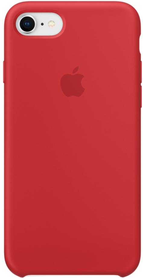 Фото - Клип-кейс Apple Silicone Case для iPhone 7/8 (красный) чехол для сотового телефона nibk khabib nurmagomedov для iphone 7 8 черный