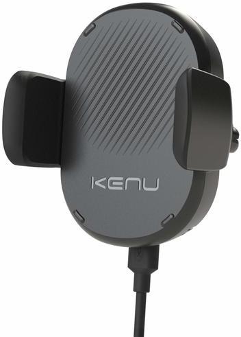 Автомобильное зарядное устройство Kenu Airframe Wireless Fast Charging Vent Mount (черный) автомобильный держатель телефона kenu airframe iphone6plus