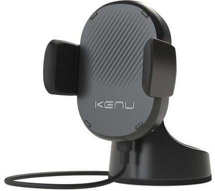 Автомобильное зарядное устройство Kenu Airbase Wireless Fast Charging Suction Mount (черный)