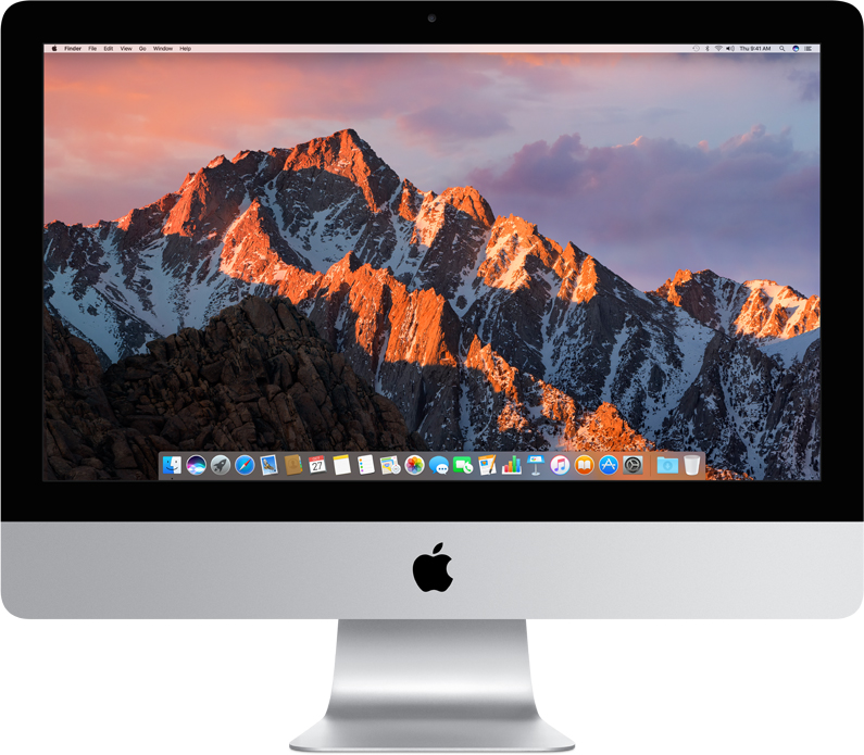 "Моноблок Apple iMac 21.5"" Core i5 2.3 ГГц, 8 ГБ, 1 ТБ, Intel Iris Plus 640 (серебристый)"