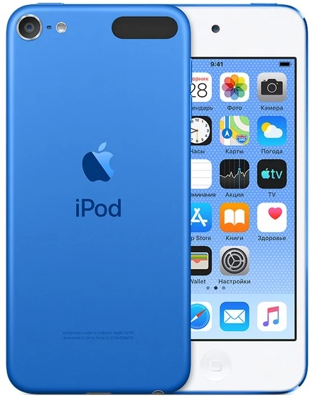 Фото - Плеер Apple iPod touch 128Gb (2019) (синий) сорокин р прекращение государственно служебных отношений вследствие несоблюдения законодательства о противодействии коррупции моногра