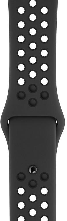 384eedd0 Apple Watch Nike+ Series 4 40 мм, корпус из алюминия цвета серый космос, с
