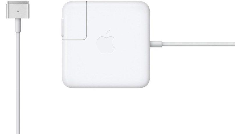 Сетевое зарядное устройство Apple 45W MagSafe 2 Power Adapter (белый)
