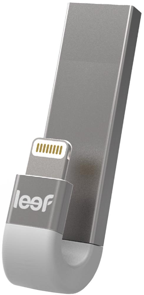 USB флешка Leef iBridge 3 128Gb (серебристый)