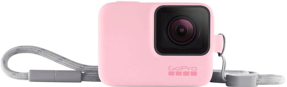 Фото - Чехол GoPro Sleeve + Lanyard с ремешком (розовый) колготки детские для девочек носик