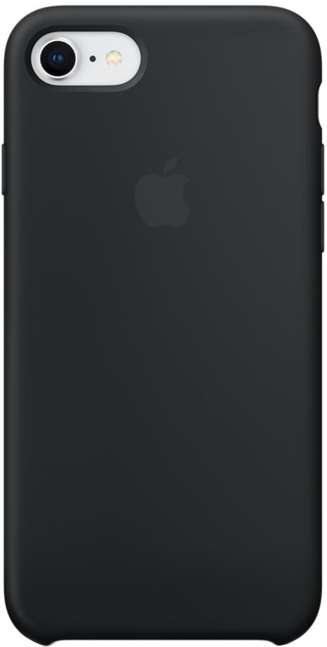 Фото - Клип-кейс Apple Silicone Case для iPhone 7/8 (черный) чехол для сотового телефона nibk khabib nurmagomedov для iphone 7 8 черный