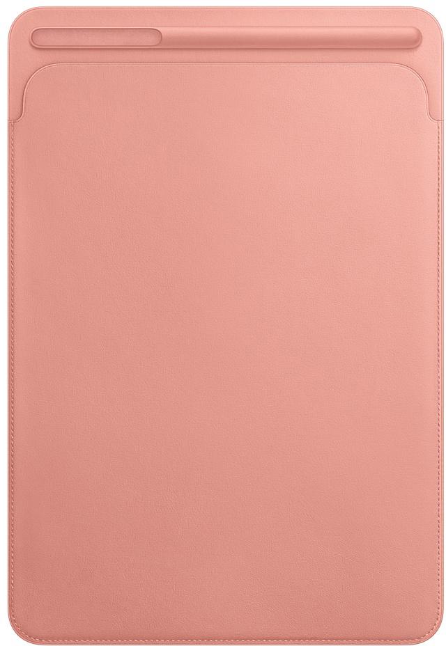 Чехол Apple Leather Sleeve для iPad Pro 10.5 2017 (бледно-розовый)