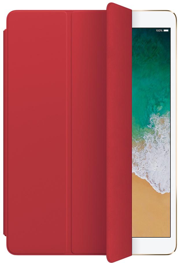 Обложка Apple Smart Cover для iPad Pro 10.5 2017 (красный)