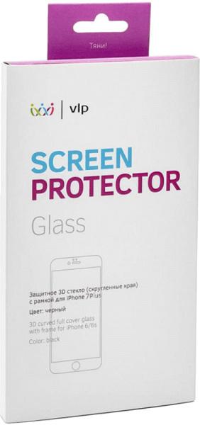 Защитное стекло VLP 3D для iPhone 7 plus (черный)