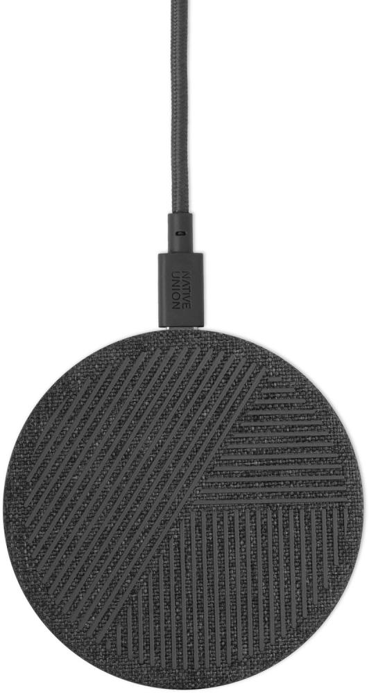 Фото - Беспроводное зарядное устройство Native Union DROP 10W (серый) беспроводное зарядное устройство rivacase va4914 wd1 белое 10w сзу