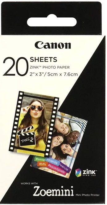 Фото - Фотобумага Canon Zink paper ZP -2030 (20 листов) муфта джилекс соед пнд рр 20 20 9250 уп 50шт