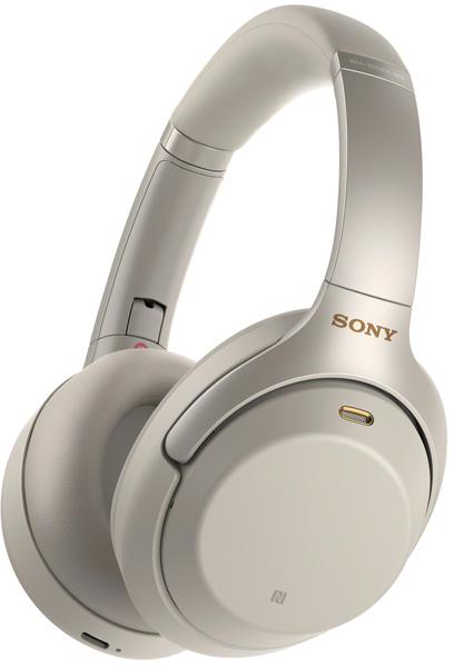 Наушники Sony WH-1000XM3 (серебристый)