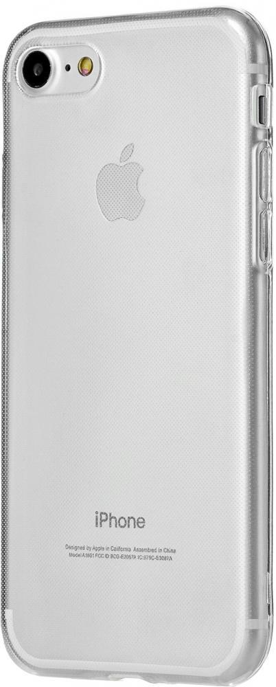 Клип-кейс uBear Texture Soft Tone для Apple iPhone 8/7 (прозрачный)