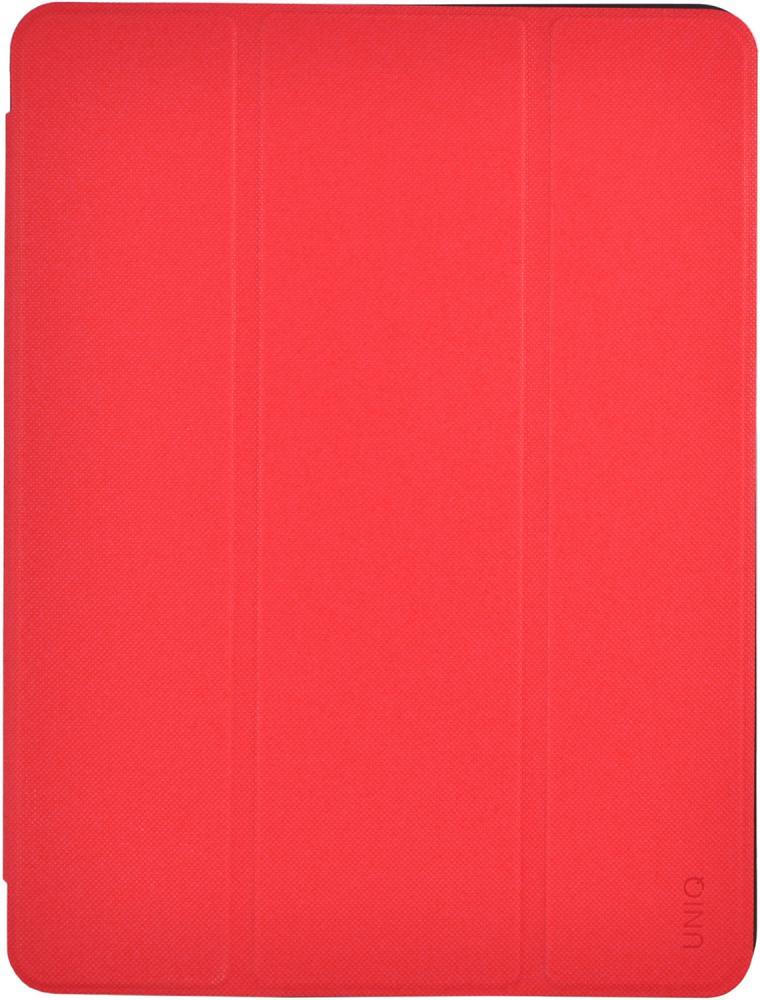 Чехол-книжка Uniq Tri-Fold Rigor для Apple iPad 9.7 (2018) (красный)