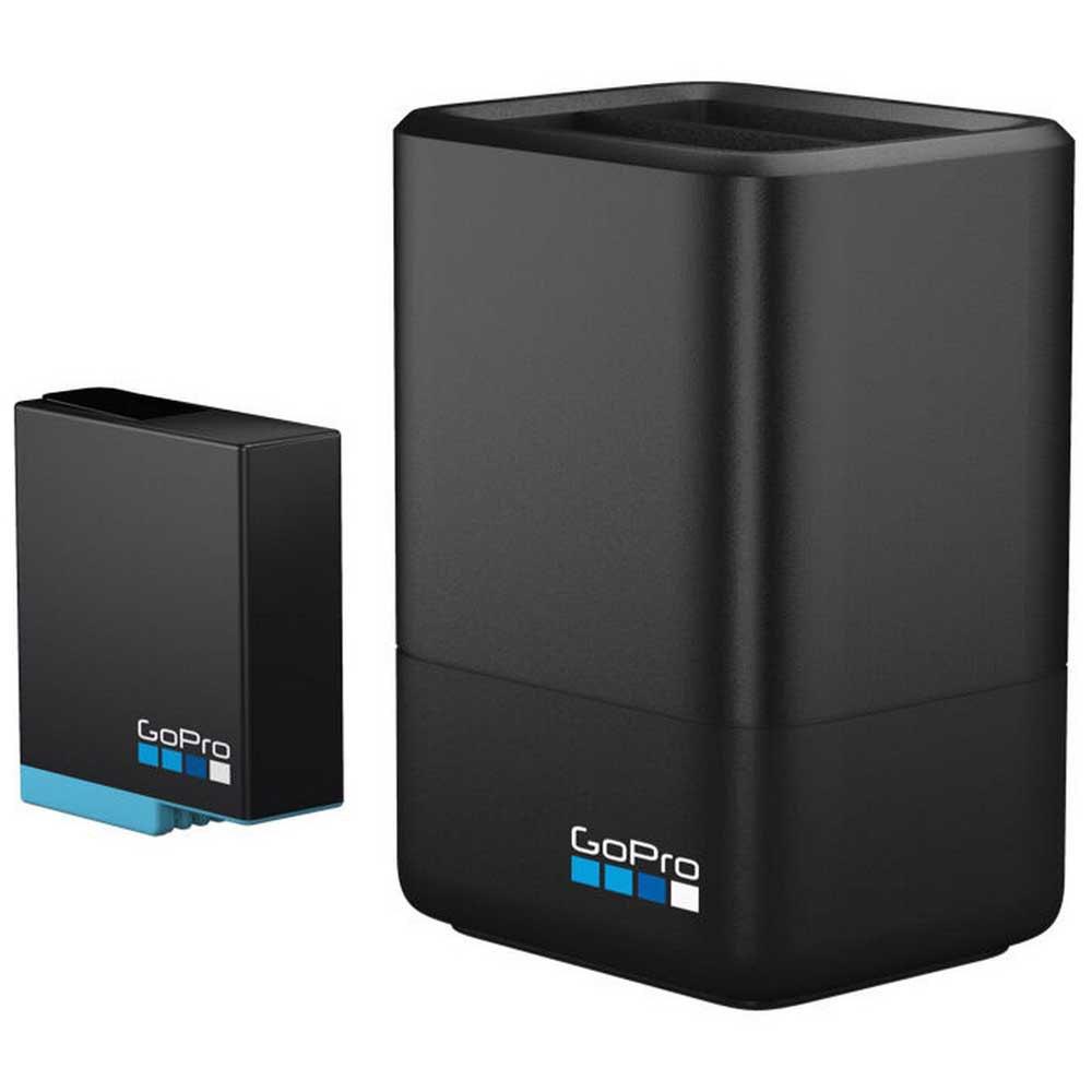 Зарядное устройство для аккумуляторов GoPro Dual Battery Charger + (AJDBD-001-EU) (черный)