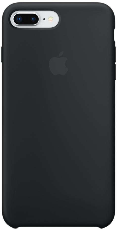 Фото - Клип-кейс Apple Silicone Case для iPhone 8 Plus/7 Plus (черный) чехол для сотового телефона nibk khabib nurmagomedov для iphone 7 8 черный