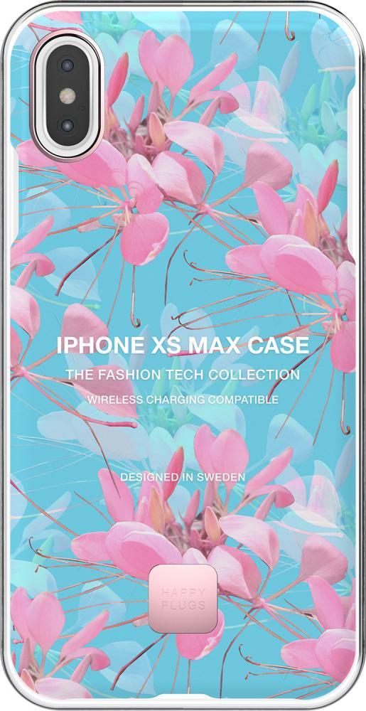 Клип-кейс Happy Plugs для Apple iPhone XS Max Botanica Exotica (с рисунком)