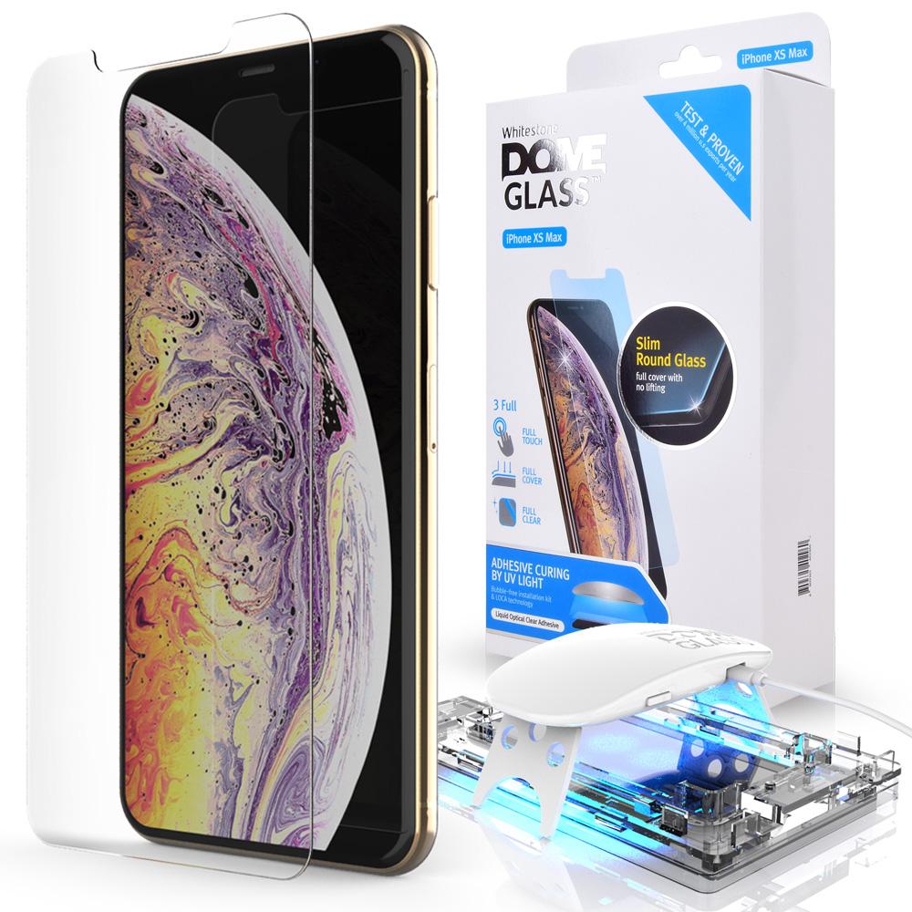 Защитное стекло Whitestone DOME для Apple iPhone XS Max