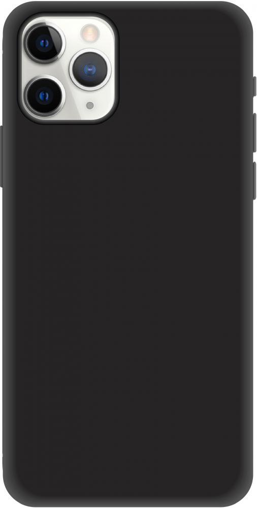 Клип-кейс Luxcase Liquid SiliconeдляApple iPhone 11 Pro (черный)
